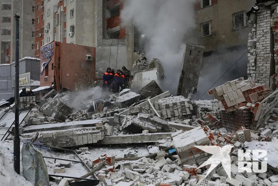 Видео с места взрыва в Нижнем Новгороде сняли с квадрокоптера.