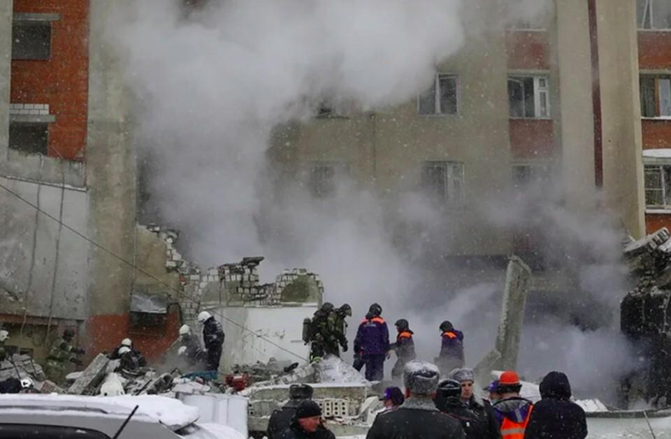 В Ростехнадзоре назвали возможную причину взрыва в Нижнем Новгороде