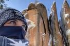 Олимпийская чемпионка Елена Исинбаева покорила «Красноярские столбы»