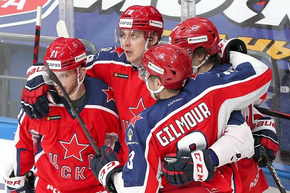 ЦСКА в третий раз подряд, и шестой раз в истории, выиграл Кубок Континента. Фото: Гавриил Григоров/ТАСС