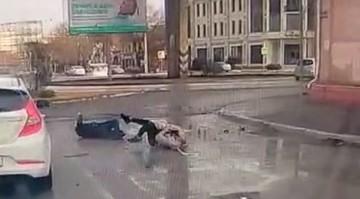ДТП в центре Астрахани: пьяный водитель сбил двух пешеходов и сопротивлялся полиции