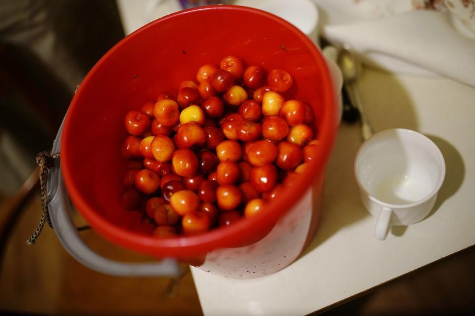 Лютые морозы никак не отразились на овощах и фруктах
