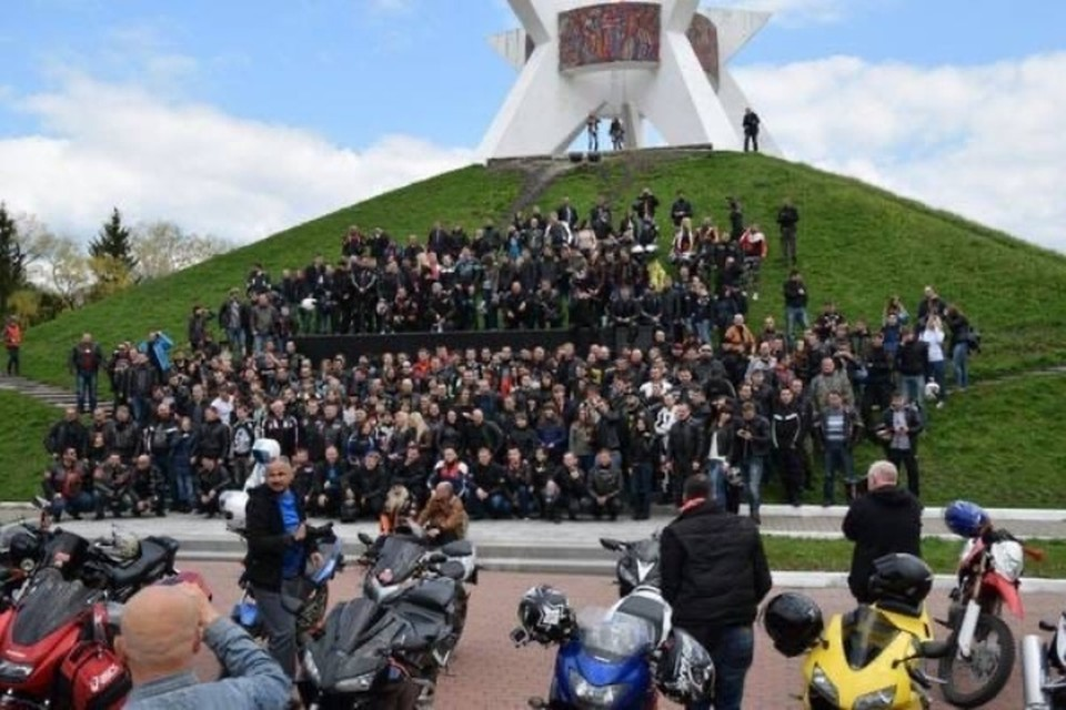 "Брянские байкеры 24 апреля откроют мотосезон. Фото: ""ЧП и ДТП Брянск""."