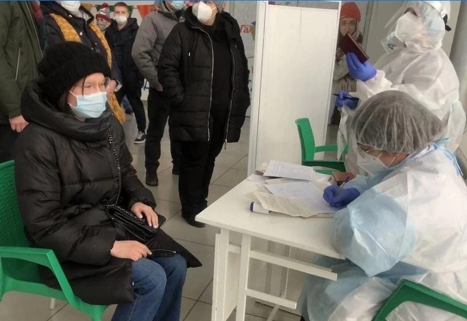 Людей тестируют, чтобы выявить бессимптомных носителей коронавируса