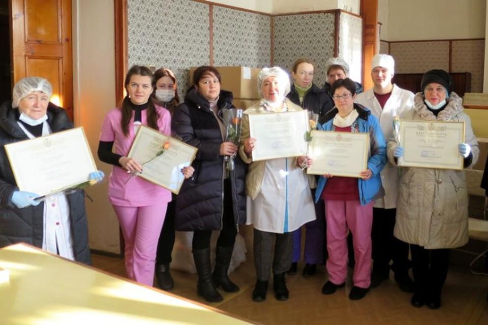 Медики Кашинской и Кимрской ЦРБ получили благодарности от митрополита Амвросия