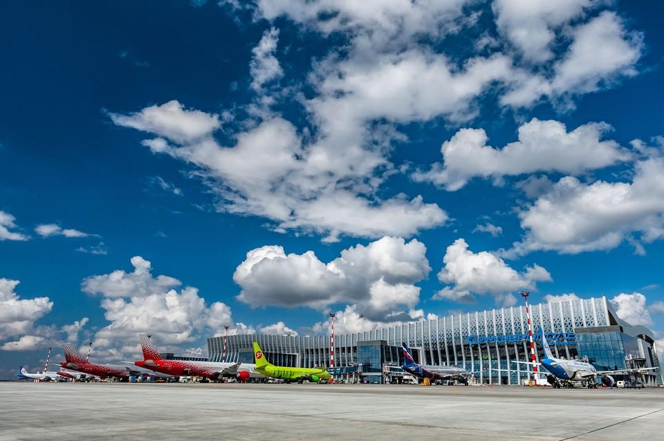 Площадь аэровокзальной инфраструктуры с 2014 года увеличилась в 7 раз. Фото: пресс-служба аэропорта Симферополь