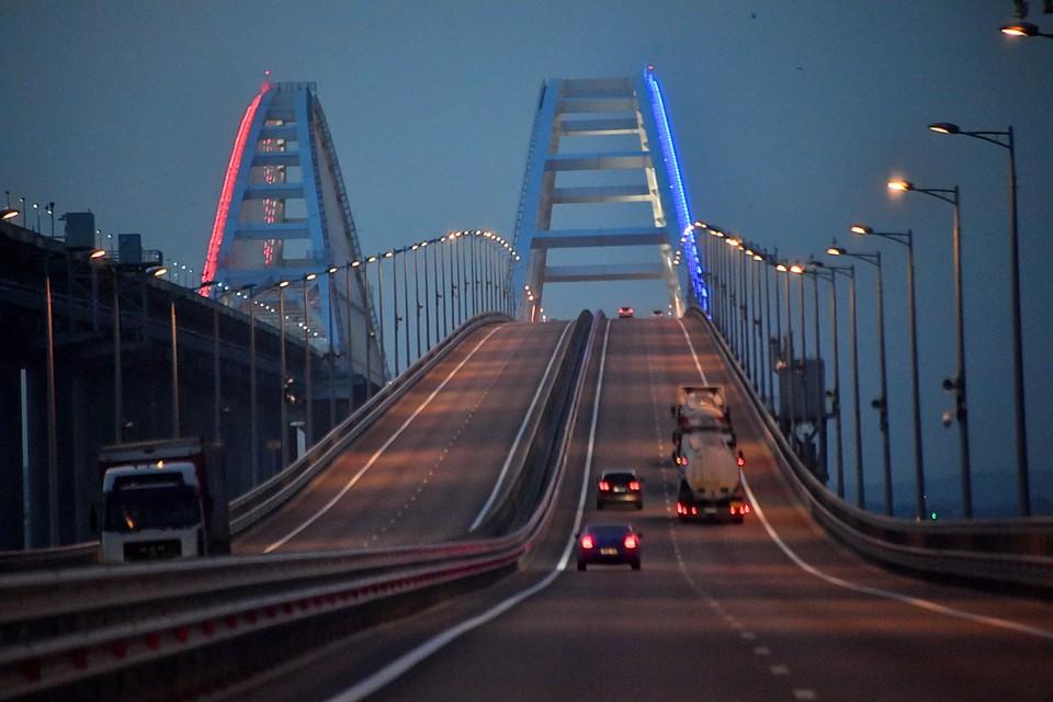 На Украине некоторые не уверены, что Крымский мост достроили