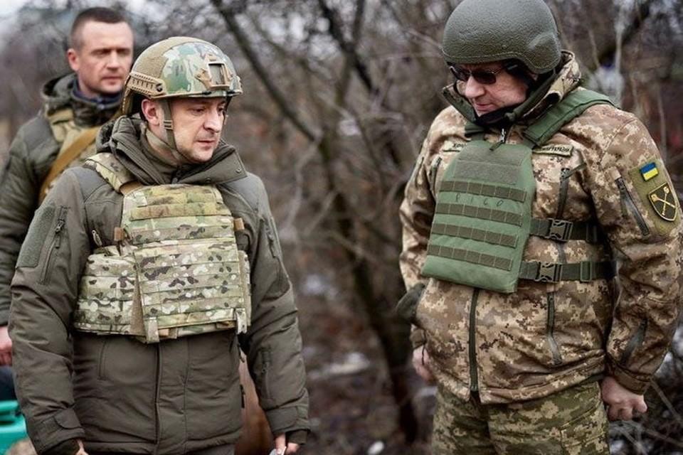 Зеленский с Хомчаком после инспекции соединений ВСУ в Донбассе поняли, что без ближневосточных головорезов им не обойтись. Фото: ОПУ