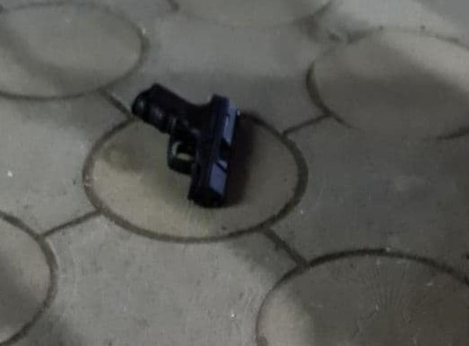 Тот самый пистолет.