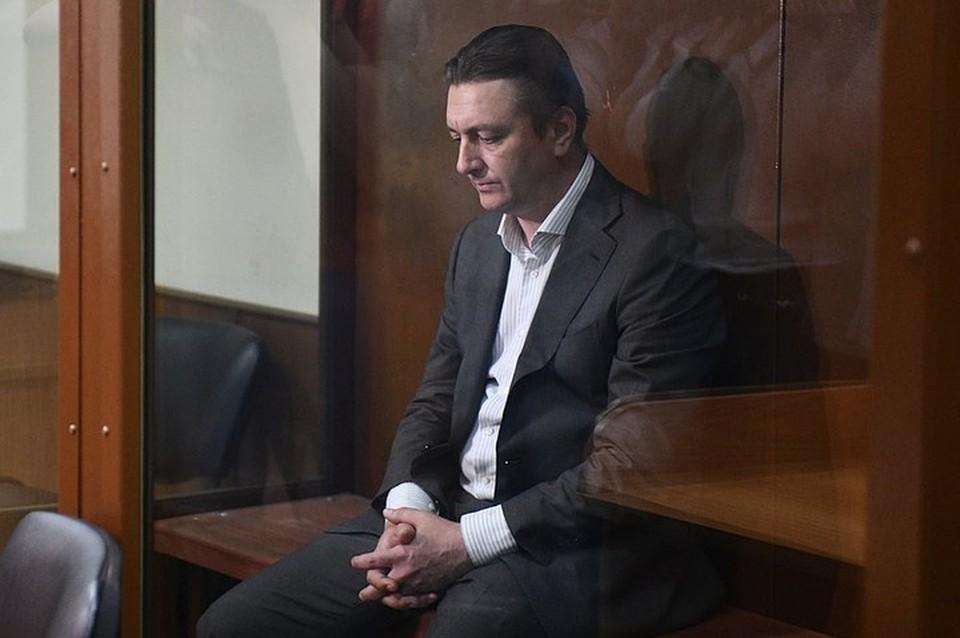 Обвиняемый в убийстве Евгении Исаенковой бывший глава Раменского района Андрей Кулаков.