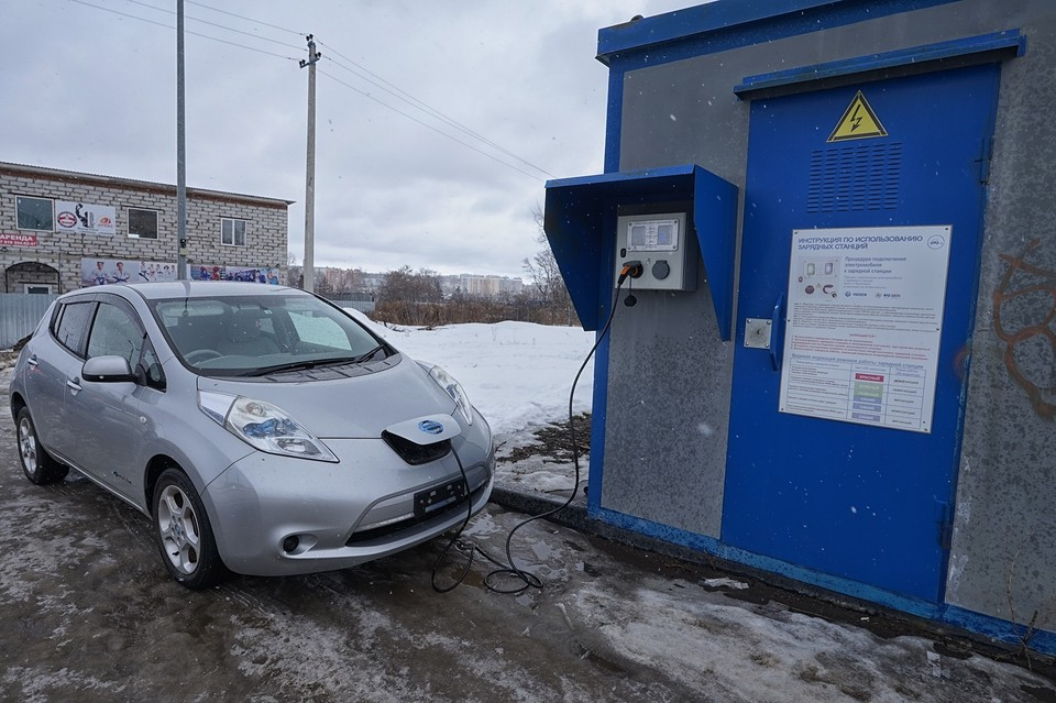 В Орловской области владельцев электромобилей освободят от налога