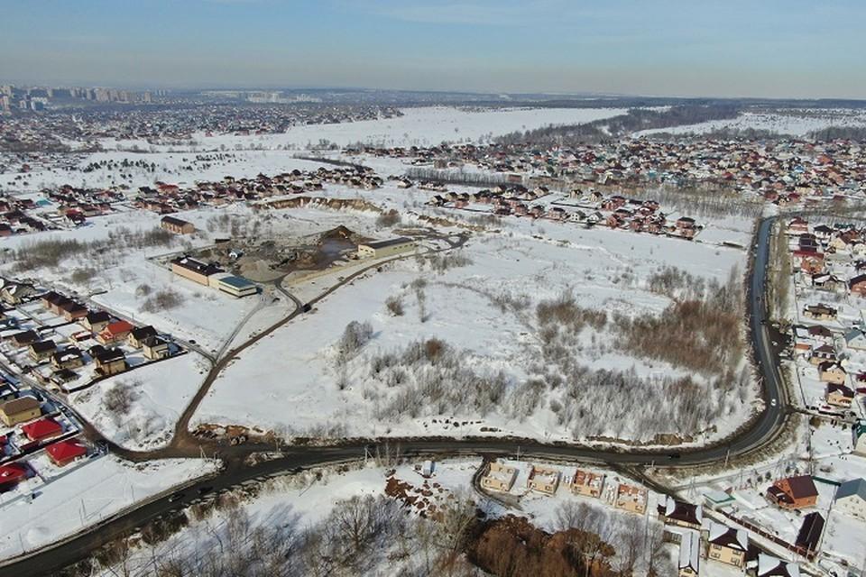 Место, где в будущем должна появится школа. Фото: kzn.ru
