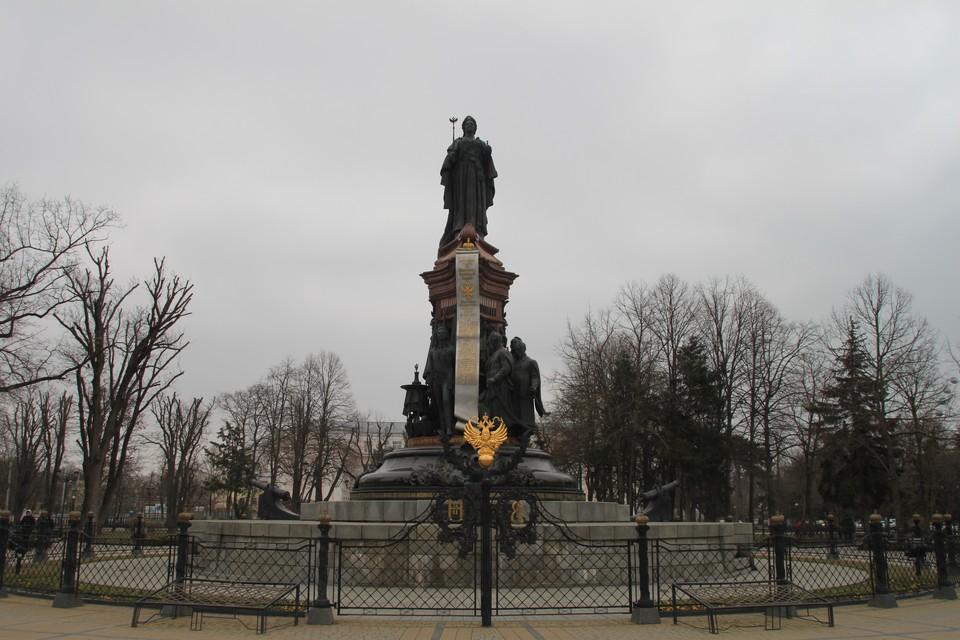 Памятник установили в Краснодаре в 2006 году