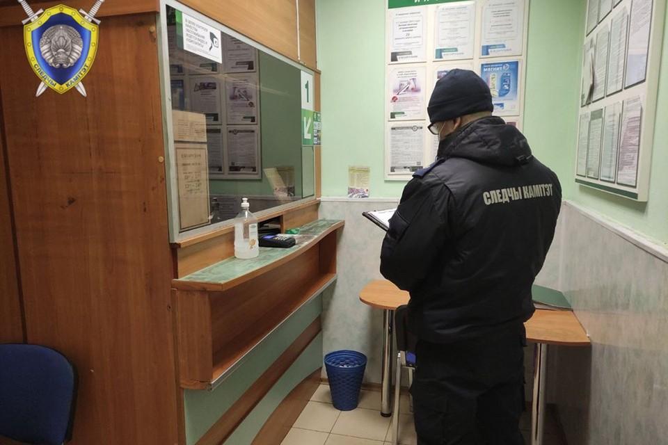 Неизвестный в Петриковском районе совершил разбойное нападение на отделение банка. Фото: СК