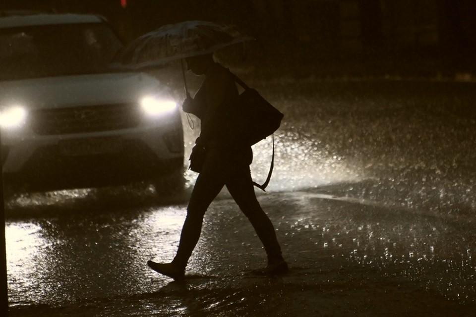 Необычный дождь прошел 29 марта 2021 года на юге Приморья.
