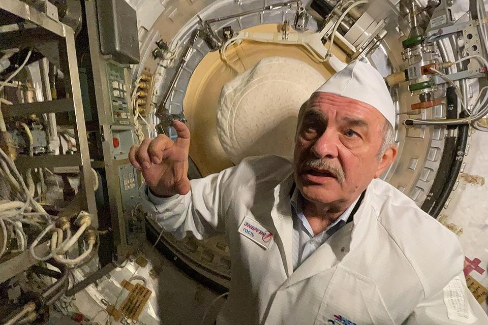 Павел Виноградов - заместитель руководителя летно-космического центра РКК «Энергия».
