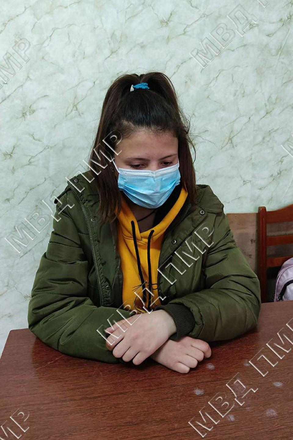 К счастью, Валерия нашлась живой и здоровой (Фото: МВД Приднестровья).