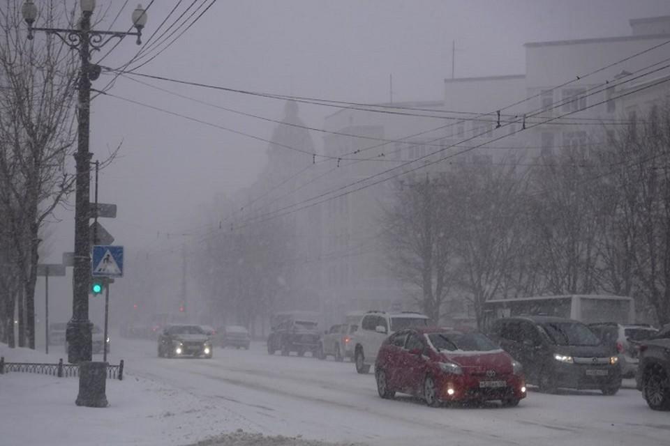 Очередной циклон надвигается на север Хабаровского края