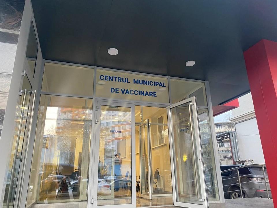 Сегодня в Кишиневе открылся первый муниципальный Центр вакцинации от COVID-19. Фото:ionceban.md