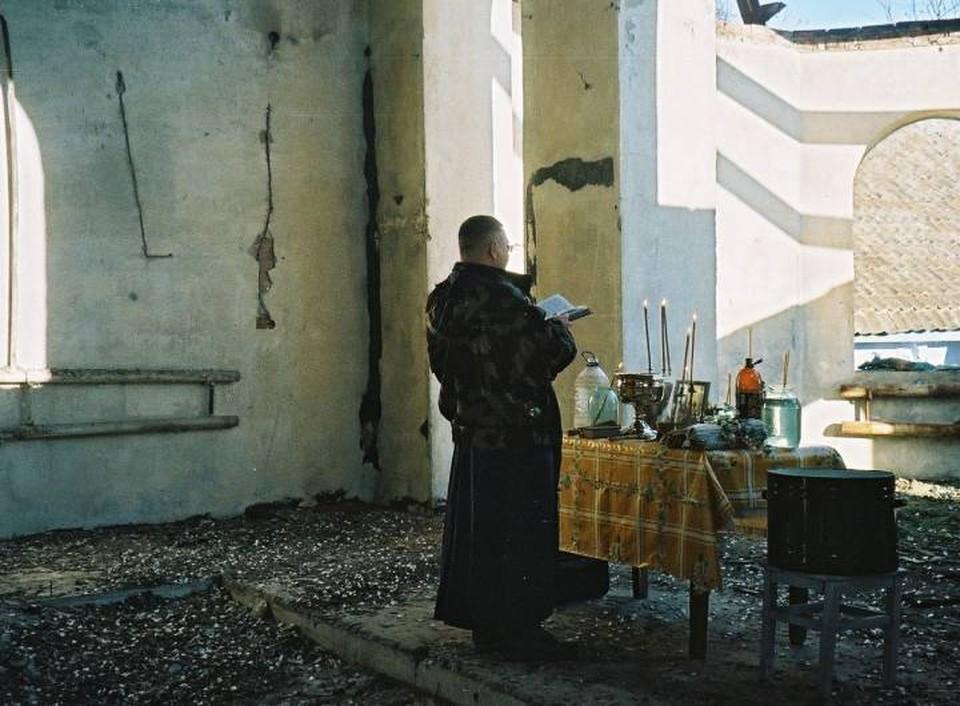 Отец Андрей прошел горячие точки и был ранен. Фото: сайт Информационного отдела Ростовской-на-Дону епархии