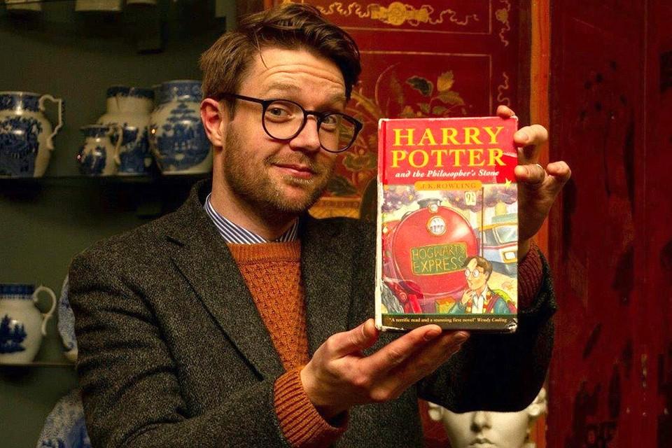 """Эта книга из самого первого издания """"Гарри Поттера"""" уйдет с молотка за десятки тысяч фунтов стерлингов."""