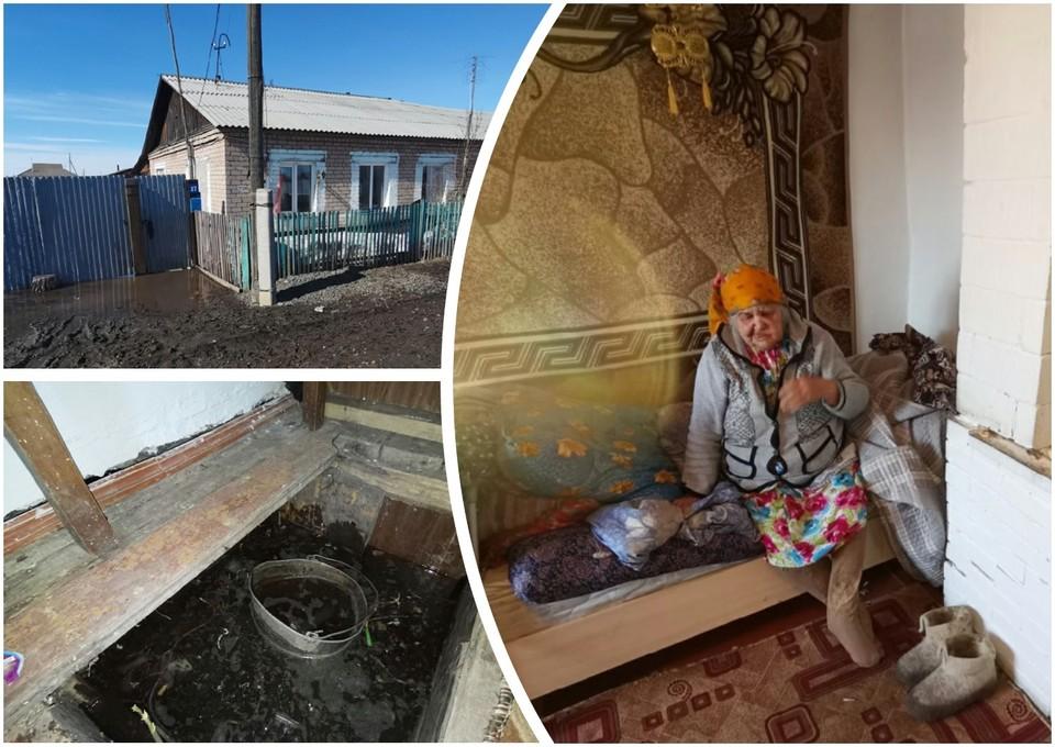 """Знакомые семьи говорят, что в этот дом ветерана расселили из ветхо-аварийного жилья. Фото: """"Текслер, помоги!""""/vk.com"""
