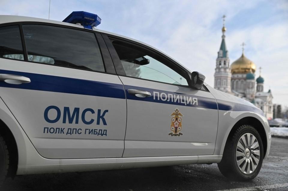 Омича довольно быстро нашла полиция. Фото: пресс-служба ГИБДД по Омской области