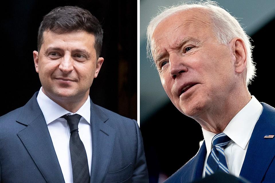 Президенты Украины и США поговорили по телефону.