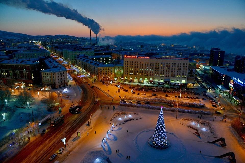 Проект реконструкции центральной площади Мурманска будут создавать с учетом мнения северян.