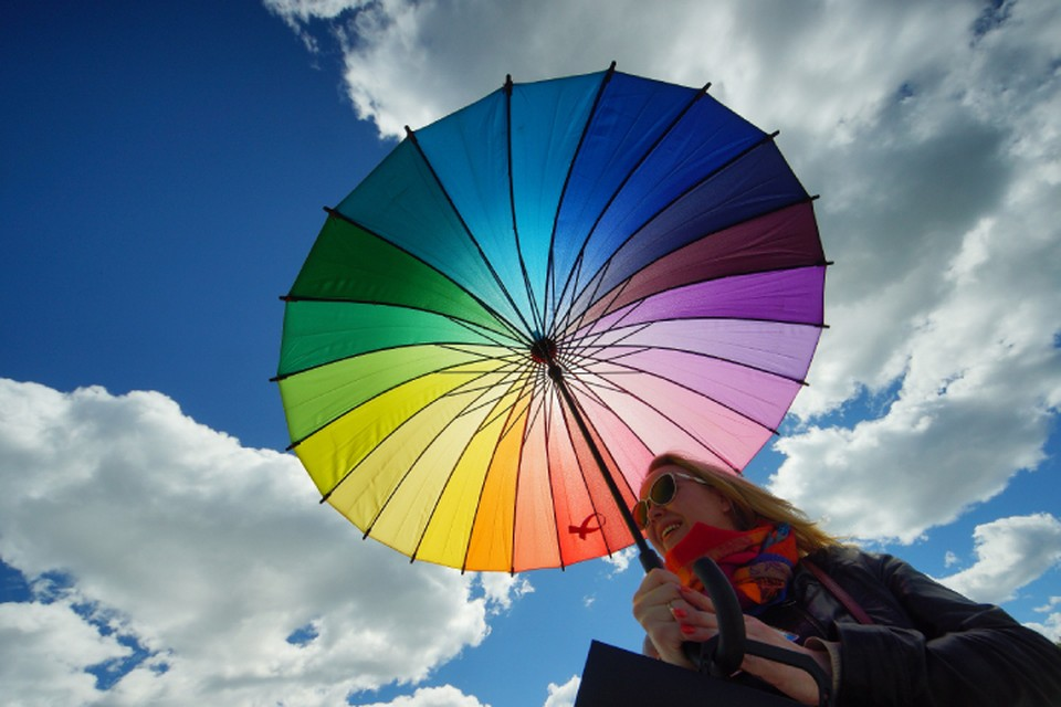 Без зонта на всякий случай на улицу не выходите - погода нестабильна!