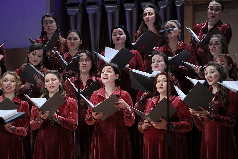 Симфонический хор Свердловской филармонии Фото: пресс-служба Свердловской филармонии