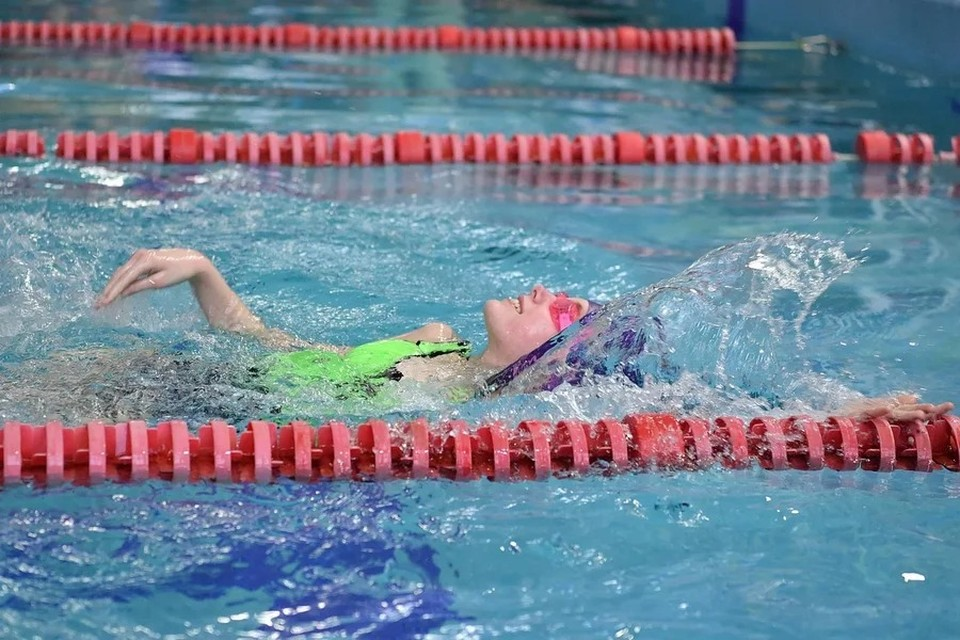 В этом году впервые в благотворительном заплыве в Ижевске приняли участие дети с особенностями развития
