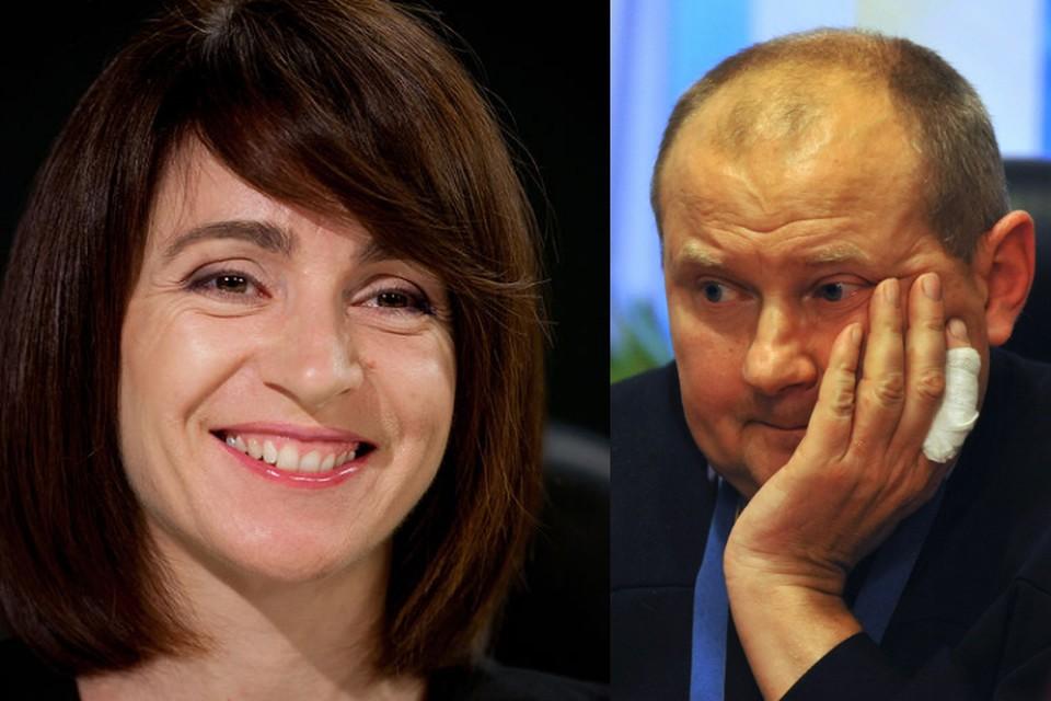 Майя Сануд и Николай Чаус.