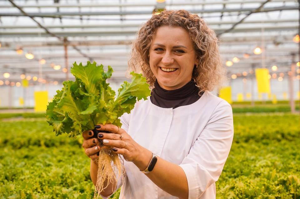 Ирина Баева: еще вчера экономист, а сегодня — овощевод.
