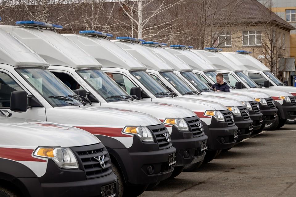 Больницы Южного Урала получили более 20 новых машин скорой помощи.