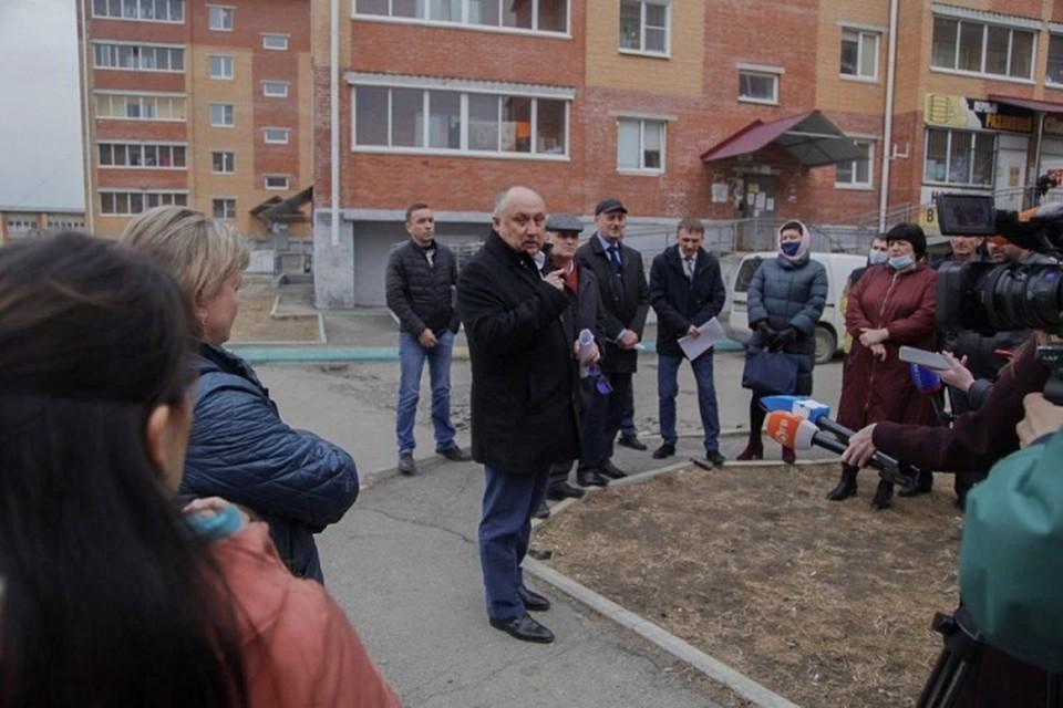 Министерство ЖКХ взяло «Твердохлебово» под контроль в Хабаровске