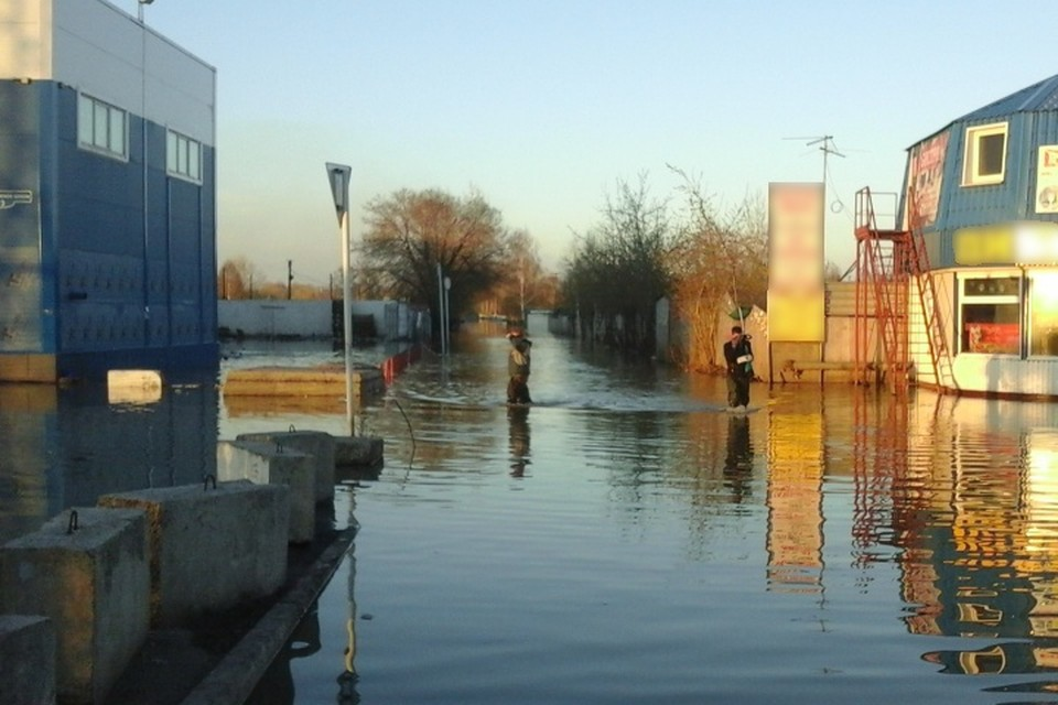 Несколько территорий Новокузнецка пострадают во время паводка