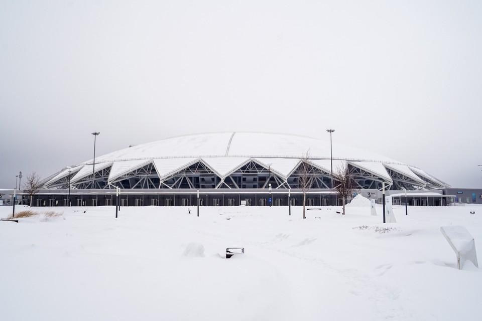 Посещение локаций стадиона свободное, с соблюдением коронавирусных ограничений