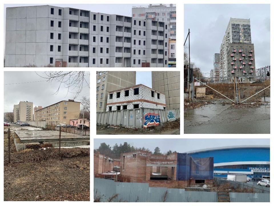 Мэрия Челябинска планирует завершить строительство этих объектов. Коллаж: natalyakotova.official / Instagram.com