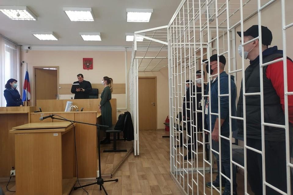 Красноярский суд вынес приговор напавшим на инкассаторов грабителям. Фото: пресс-служба краевого суда