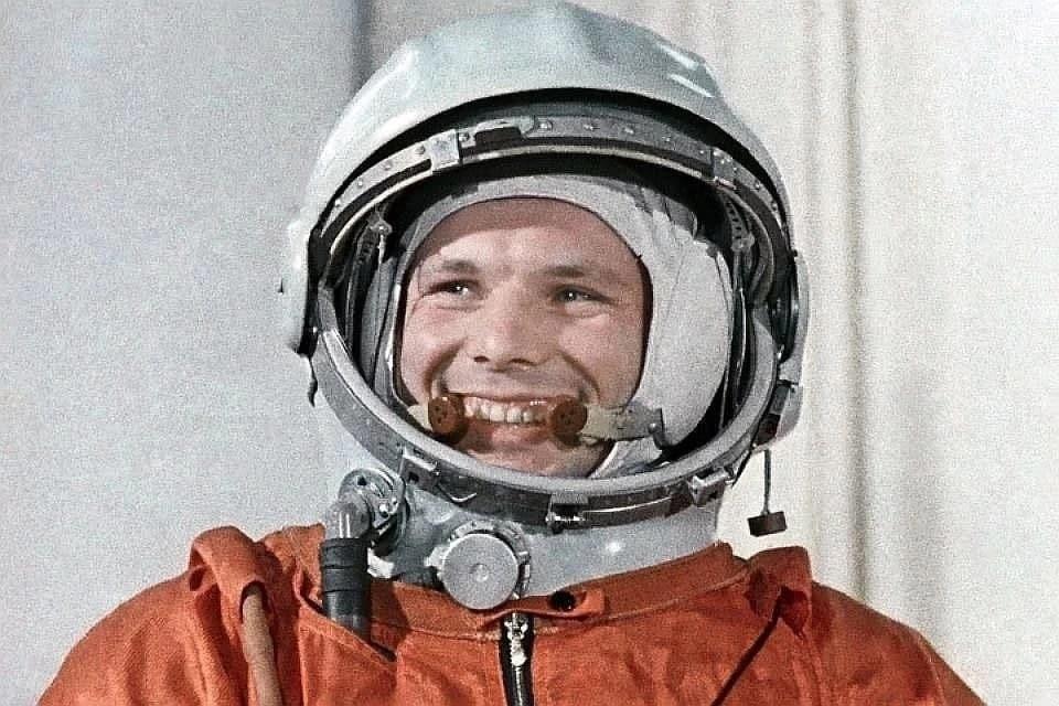 Юрий Гагарин. Фото: фотохроника ТАСС.