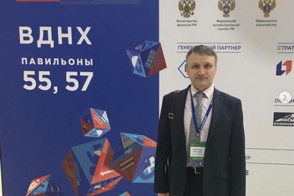 Глава комитета Ставрополья по госзакупкам Александр Абалешев