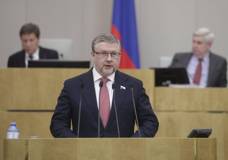Его коллега-сахалинец Алексей Корниенко задекларировал доход почти в три раза ниже. Фото: георгийкарлов.рф