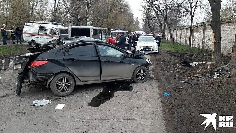 По предварительным данным, авария произошла в 4 часа 36 минут в Новочеркасске на улице Машиностроительной, 6а.