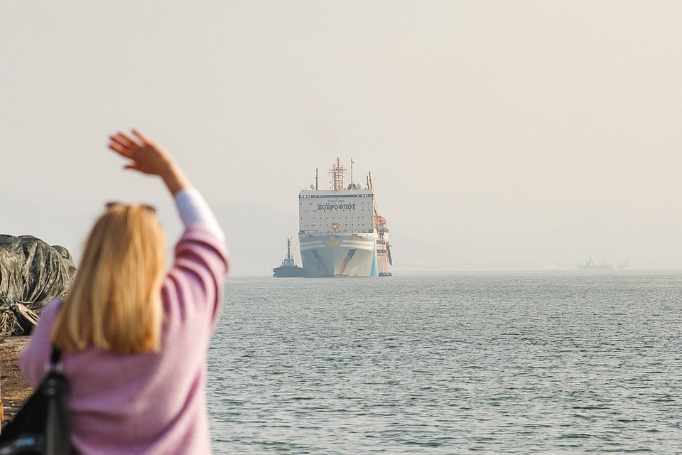 Крупнейшая плавбаза в мире «Всеволод Сибирцев» прошла более 18 тысяч морских миль. Фото: КП-Находка