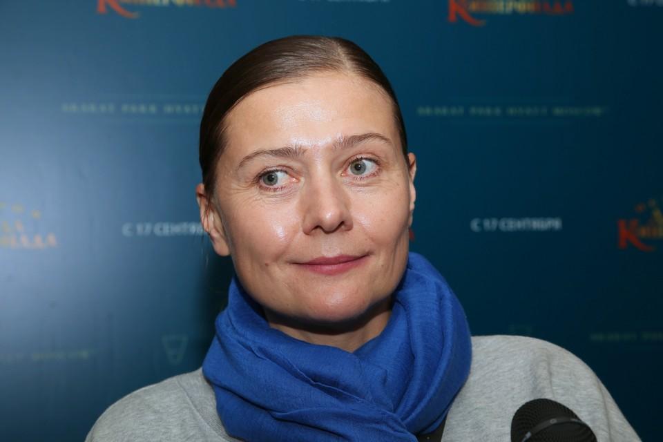 Актриса Мария Голубкина.