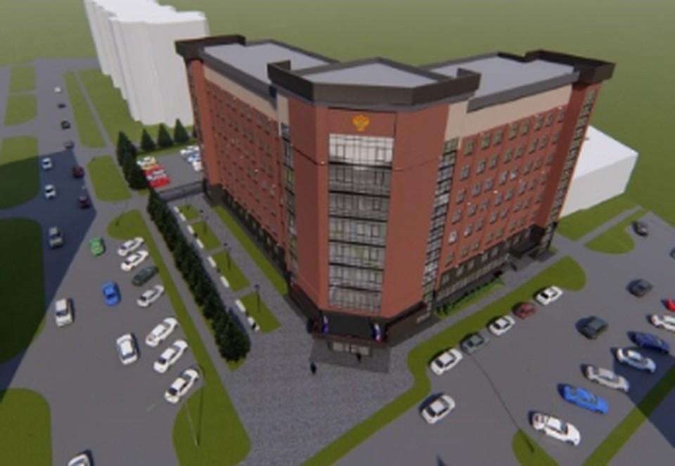 Проект здания прокуратуры