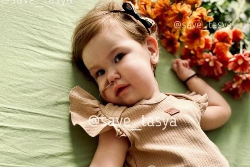 У Таси Ларионовой диагностирована спинальная мышечная атрофия.