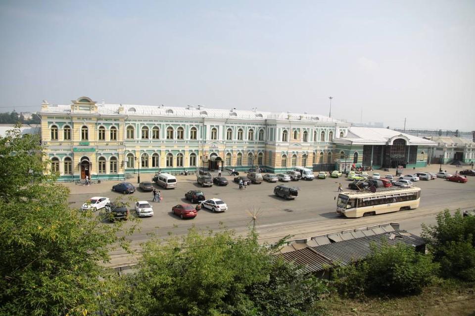 Выход на перрон вокзала Иркутск-Пассажирский будет осуществляться через 3-ий подъезд