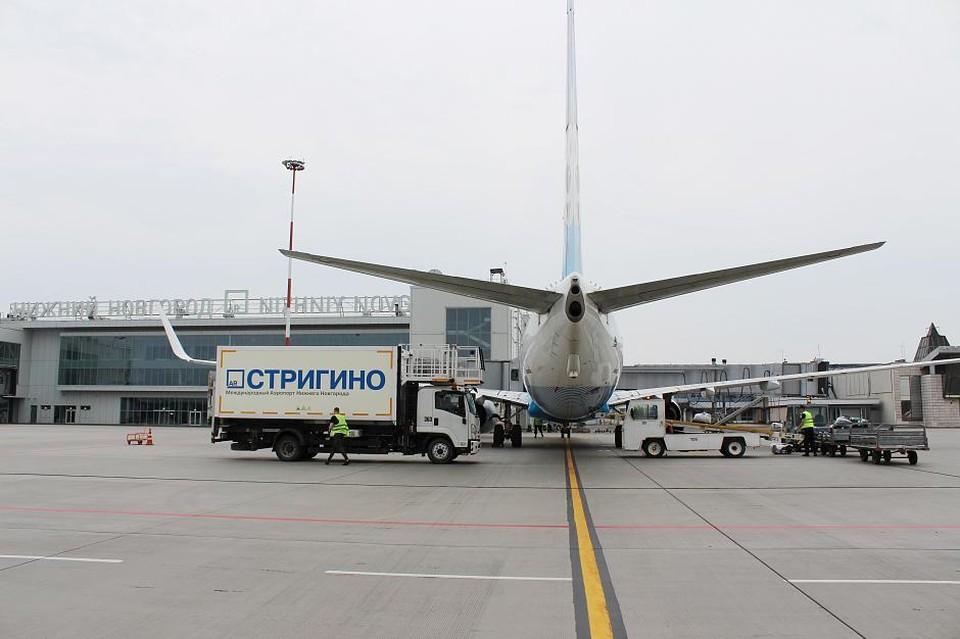 Авиарейсы из Нижнего Новгорода в Белгород и Норильск возобновятся 29 апреля. ФОТО: аэропорт Стригино